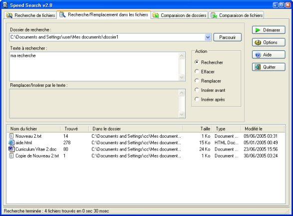Speed Search 2.8 Screenshot